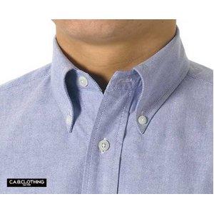 クールビズ対応オックスフォードボタンダウン半袖シャツ CB1068 O X ホワイト Mサイズ