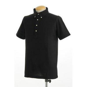 クールビズ 4ボタン吸汗速乾ポロシャツ 【 2枚セット 】 J2090 白×ブラック Sサイズ h03