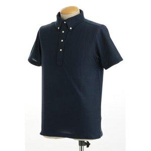 クールビズ 4ボタン吸汗速乾ポロシャツ 【 2枚セット 】 J2090 白×ネイビー Mサイズ h02