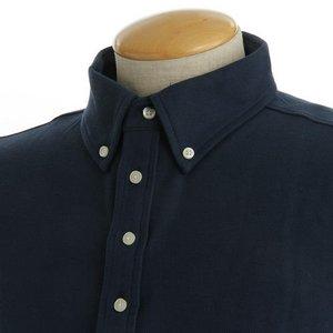 クールビズ 4ボタン吸汗速乾ポロシャツ 【 2枚セット 】 J2090 白×ネイビー Mサイズ f04