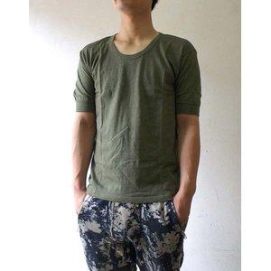 ドイツ軍放出 BWTシャツ JT001NN オリーブ サイズ4 【デットストック】【未使用】 - 拡大画像