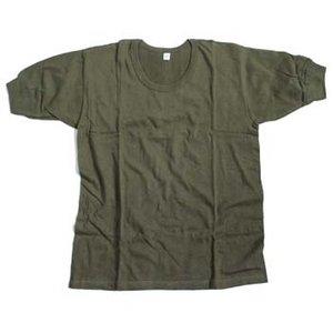 ドイツ軍放出 BWTシャツ JT001NN オリーブ サイズ4 【デットストック】【未使用】