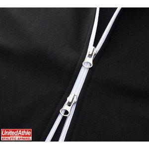 ライン入りジャージ ラグランスリーブジャケット CB1995 ブラック/ホワイト/レッド L f04