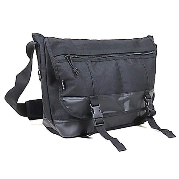 アメリカ軍 メッセンジャーバッグ/鞄  20 L  ポリエステルキャンバス地/ラバー 防水加工 B S124YN ブラック  レプリカ
