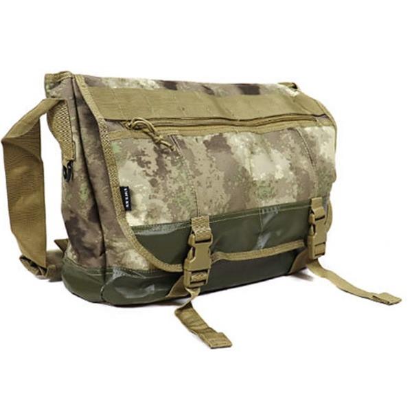 アメリカ軍 メッセンジャーバッグ/鞄  20 L  ポリエステルキャンバス地/ラバー 防水加工 B S124YN A-TAC S  レプリカ