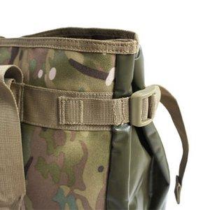 アメリカ軍 トートバッグ/鞄 【 25L 】 ポリエステルキャンバス地/ラバー 防水加工 BH062YN ウッドランド 【 レプリカ 】