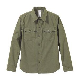 米軍タイプ ピーチ起毛ファーティングシャツ CB1273 Mサイズ 【レプリカ】 - 拡大画像