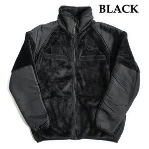 アメリカ軍 ECWC S Gen3 両面フリースジャケット 【 Sサイズ 】 サイドリブ仕様 JJ150YN ブラック 【 レプリカ 】
