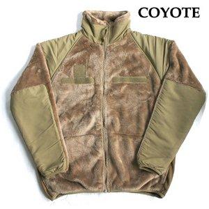 アメリカ軍 ECWC S Gen3 両面フリースジャケット 【 Lサイズ 】 サイドリブ仕様 JJ150YN コヨーテ 【 レプリカ 】