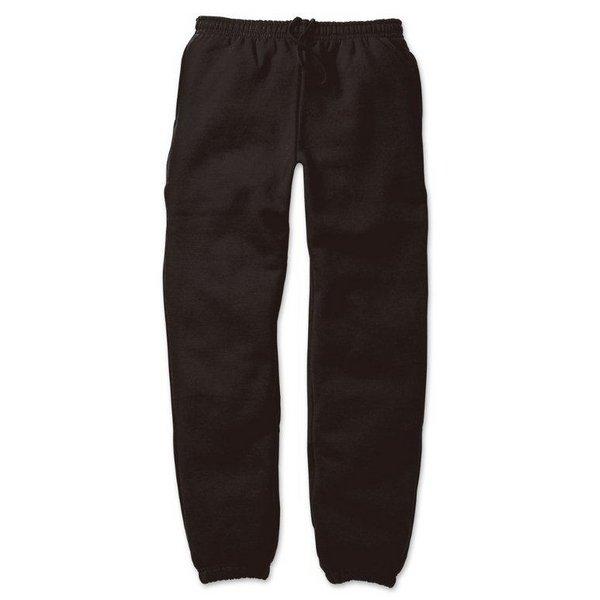12.4ozヘビーウェイト裏起毛パンツ 7211 ブラック Lサイズf00