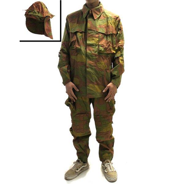 イタリア軍放出 サンマルコ カモフラージュスーツ 迷彩服3点セット C S025NN サイズ3     未使用