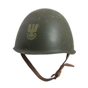 ポーランド軍放出 スチールヘルメット H M027UN 【中古】