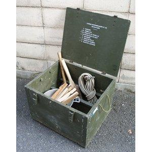 フランス軍放出 F1テントボックス ウッド BX100UN  【中古】 - 拡大画像