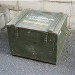 フランス軍放出 F1テントボックス ウッド B X100UN 【中古】