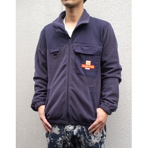 イギリス軍放出 ロイヤルメールフリースジャケット JJ064UN XLサイズ 【中古】 - 拡大画像