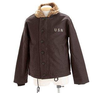 USタイプ 「N-1」 DECK ジャケット JJ105YN ブラック 38(L)サイズ 【レプリカ】