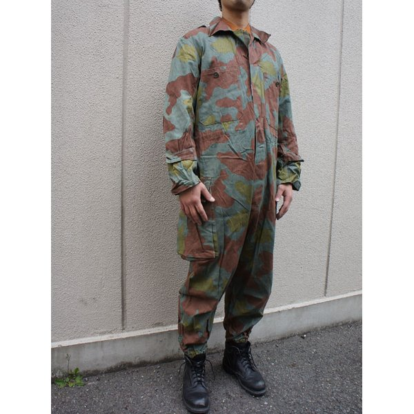 イタリア軍放出 サンマルコカモ(迷彩) カバーオール CC028UN Lサイズ中古