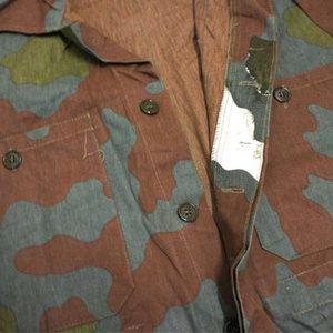 イタリア軍放出 サンマルコカモ(迷彩) カバーオール CC028UN Lサイズ【中古】