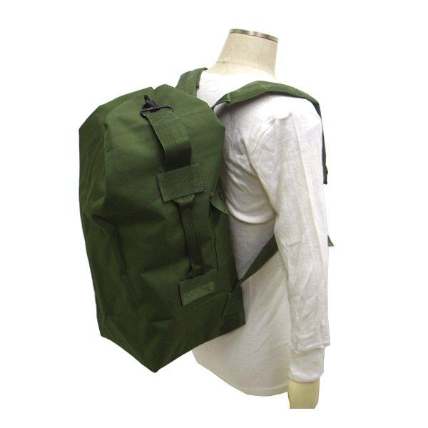 米陸軍 防水20L ダッフルバック BD005NN  オリーブ 【レプリカ】
