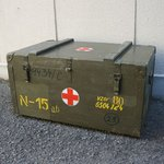 チェコ軍放出 N5/N15 ウッドボックス BX099UN 【中古】