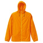花粉症対策フッ素撥水加工マウンテンパーカー CB7025 オレンジ/イエロー Lサイズ