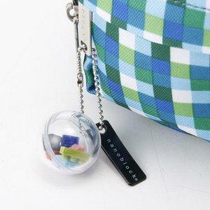 「nanoblock」ブランド2WAYポーチ NB006 ピンクブロック h03