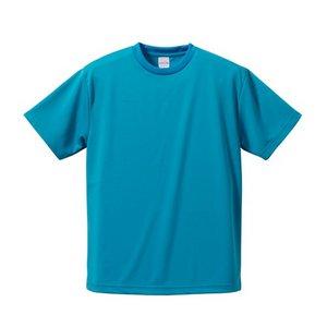 UVカット吸汗速乾 Tシャツ 【 3枚セット 】 CB5900 コバルトブルー & ターコイズ ブルー & ネイビー XXXLサイズ h02
