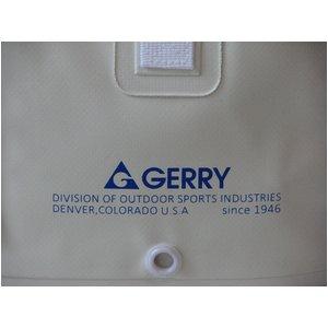 GERRY超軽量完全防水トートバッグ ( S) GE3008 ホワイト×グリーン f04