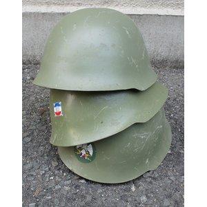 セルビア軍放出 スチールヘルメット HM030UN 57cm 【中古】 - 拡大画像