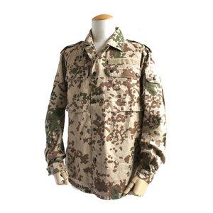 ドイツ軍放出 BWデザートフレックターン長袖シャツ JS099UN M  【中古】 h02
