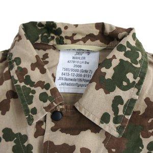 ドイツ軍放出 BWデザートフレックターン長袖シャツ JS099UN M  【中古】 h03