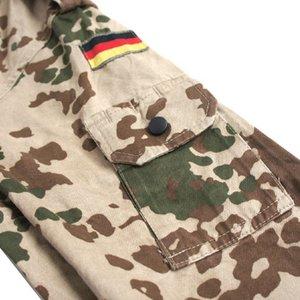 ドイツ軍放出 BWデザートフレックターン長袖シャツ JS099UN M  【中古】 f06