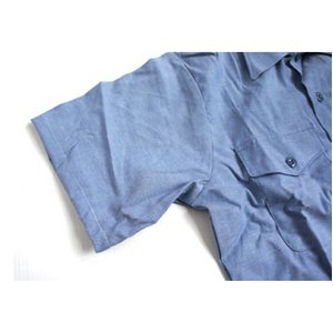 米軍放出 シャンブレー半袖シャツ JS105NN M~Lサイズ 【デットストック】【未使用】 f05