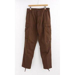 アメリカ軍 BDU カーゴパンツ /迷彩服パンツ 【 XSサイズ 】 YN521007 ブラウン 【 レプリカ 】