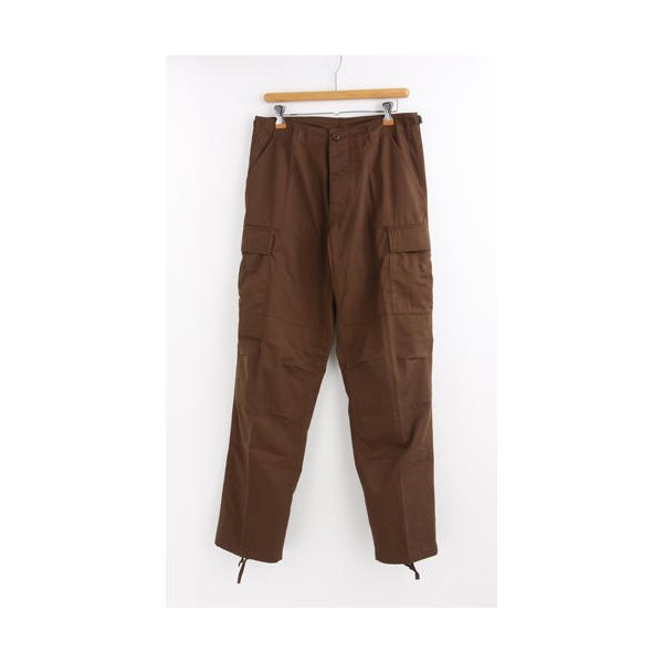 アメリカ軍 BDU カーゴパンツ /迷彩服パンツ  Sサイズ  YN521007 ブラウン  レプリカ