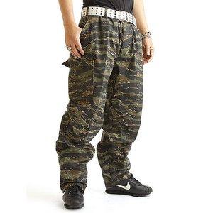 アメリカ軍 BDU カーゴパンツ /迷彩服パンツ 【 XSサイズ 】 YN521007 タイガー 【 レプリカ 】