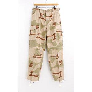 アメリカ軍 BDU カーゴパンツ /迷彩服パンツ 【 Sサイズ 】 リップストップ YN521007 3カラーデザート 【 レプリカ 】