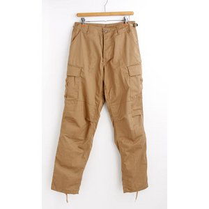 アメリカ軍 BDU カーゴパンツ /迷彩服パンツ 【 XSサイズ 】 YN521007 カーキー 【 レプリカ 】