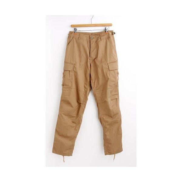 アメリカ軍 BDU カーゴパンツ /迷彩服パンツ  XSサイズ  YN521007 カーキー  レプリカ