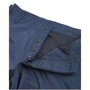 アメリカ軍 BDU カーゴパンツ /迷彩服パンツ 【 Sサイズ 】 リップストップ YN521007 ネイビー 【 レプリカ 】