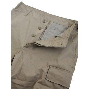 アメリカ軍 BDU カーゴパンツ /迷彩服パンツ 【 Mサイズ 】 リップストップ YN521007 カーキ 【 レプリカ 】