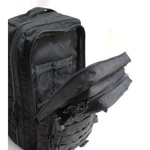 アメリカ軍 多機能アサルトリュックサックミディアム BR058YN ブラック 【 レプリカ 】