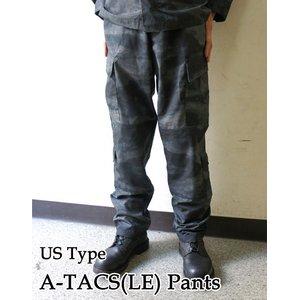 アメリカ警察A-TACS(LE)ナイトカモフラージュ(迷彩)リップストップパンツPB033YNMサイズ【レプリカ】