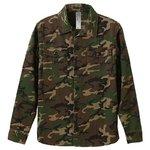 ファーティングロングスリーブシャツ CB1277 ウッドランド カモ( 迷彩) Mサイズ