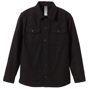 ファーティングロングスリーブシャツ CB1277  ブラック  Sサイズ