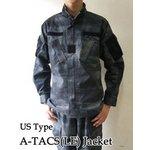 アメリカ警察A-TAC S( LE)ナイト カモフラージュリップストップジャケット( 迷彩) JB027YN M 【 レプリカ 】