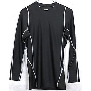 アメリカ軍 タクティカルトレーニングアンダーシャツ 【 長袖/Mサイズ 】 Y M615004 ブラック 【 レプリカ 】