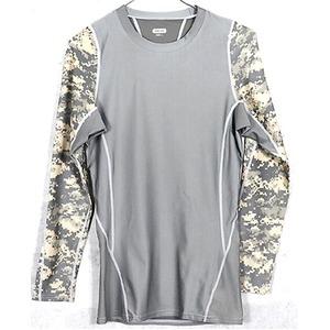 アメリカ軍 タクティカルトレーニングアンダーシャツ 【 長袖/Lサイズ 】 Y M615004 ACU 【 レプリカ 】