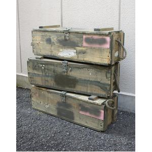 オースリア軍放出 ウッドボックス BX108UN 【デットストック】【未使用】