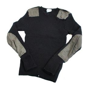オランダ軍放出イギリス Kempton社製コマンドセーター JW031ND ブラック染め【デッドストック】【未使用】